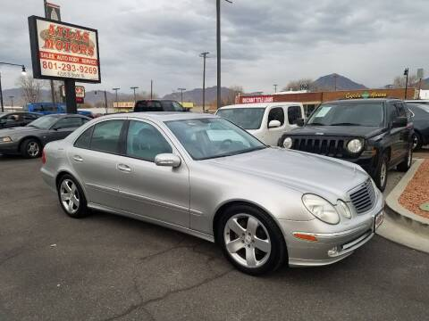 2004 Mercedes-Benz E-Class for sale at ATLAS MOTORS INC in Salt Lake City UT