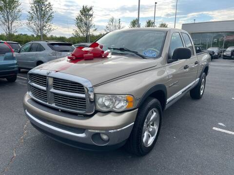 2004 Dodge Ram Pickup 1500 for sale at Charlotte Auto Group, Inc in Monroe NC