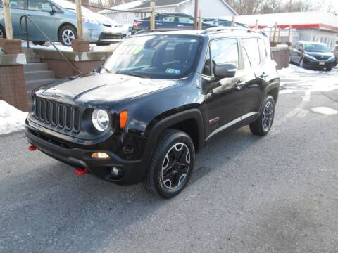 2017 Jeep Renegade for sale at WORKMAN AUTO INC in Pleasant Gap PA