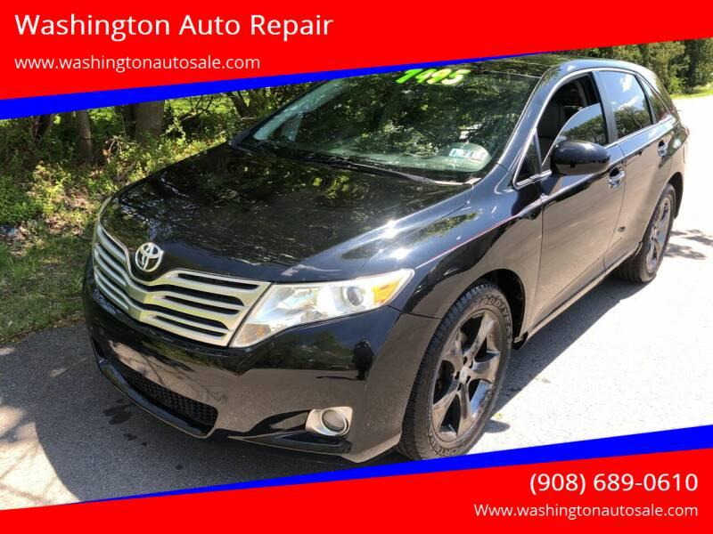 2009 Toyota Venza for sale at Washington Auto Repair in Washington NJ