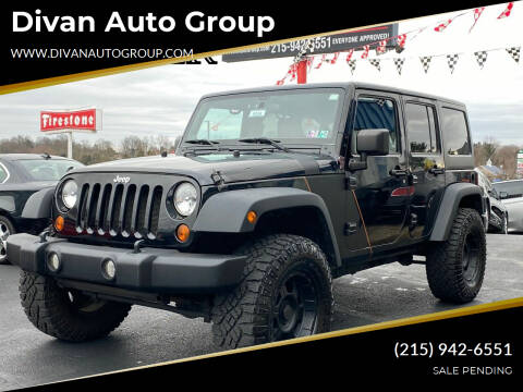 2011 Jeep Wrangler Unlimited for sale at Divan Auto Group in Feasterville PA