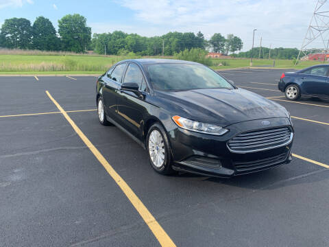 2014 Ford Fusion for sale at Quality Motors Inc in Indianapolis IN