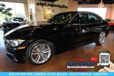 2015 BMW 3 Series for sale at Discover Pre-Owned Auto Sales in Scottsdale AZ
