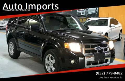 2010 Ford Escape for sale at Auto Imports in Houston TX