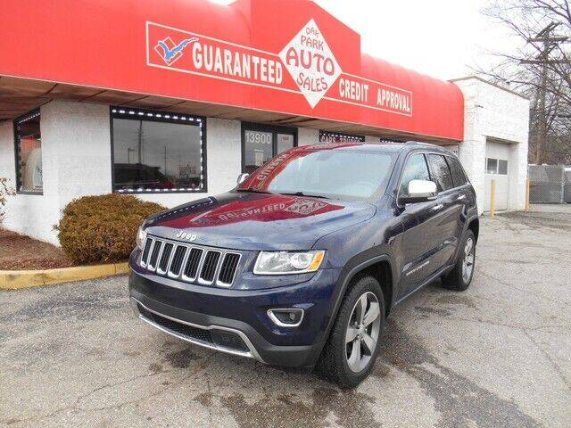 2014 Jeep Grand Cherokee for sale at Oak Park Auto Sales in Oak Park MI