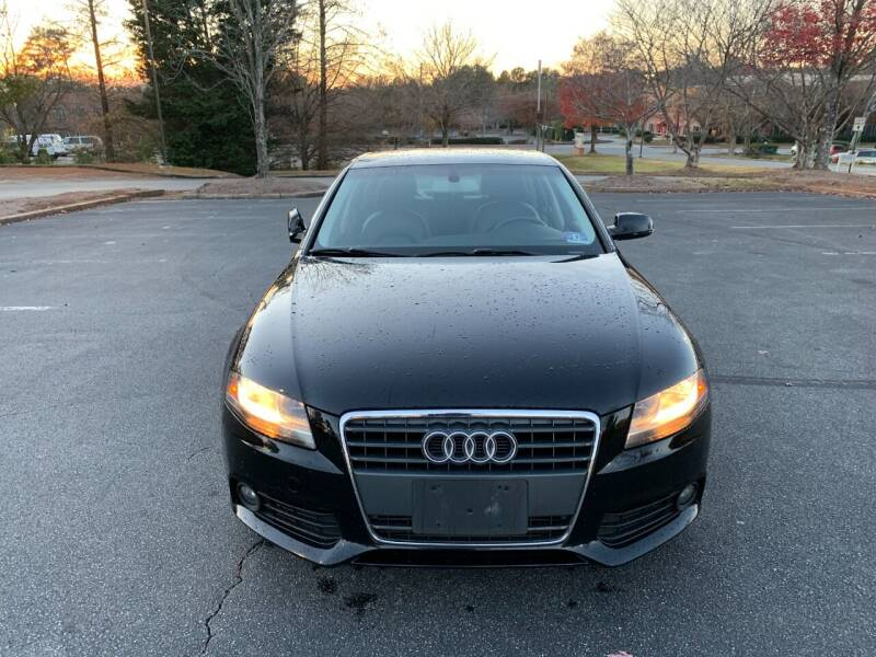2012 Audi A4 for sale at SMZ Auto Import in Roswell GA