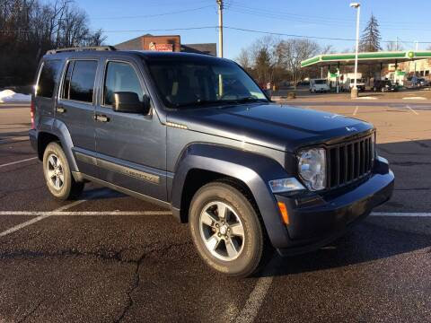 2008 Jeep Liberty for sale at Borderline Auto Sales in Loveland OH