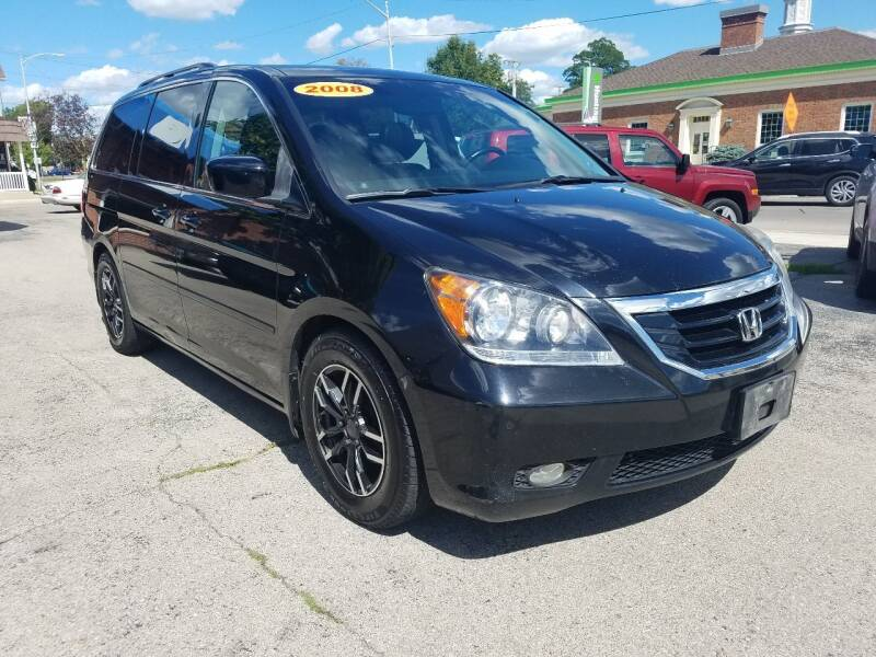 2008 Honda Odyssey for sale at BELLEFONTAINE MOTOR SALES in Bellefontaine OH