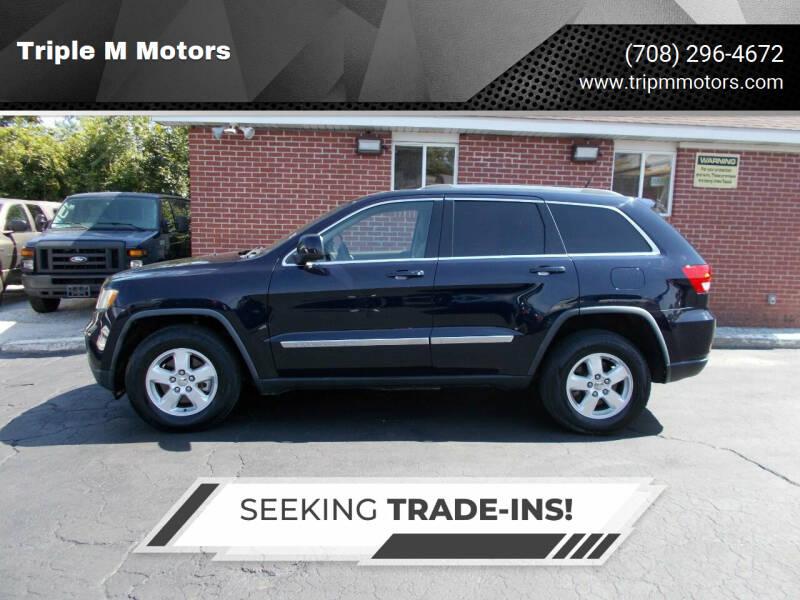 2011 Jeep Grand Cherokee for sale at Triple M Motors in Saint John IN