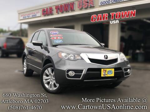 2010 Acura RDX for sale at Car Town USA in Attleboro MA