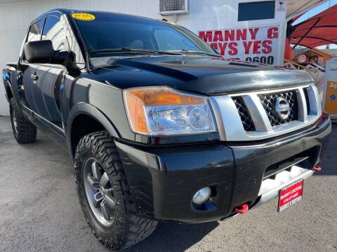 2015 Nissan Titan for sale at Manny G Motors in San Antonio TX