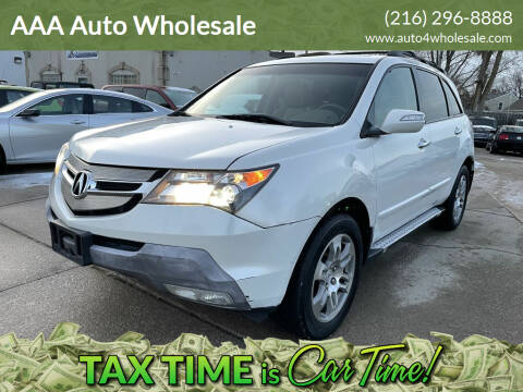 2007 Acura MDX for sale at AAA Auto Wholesale in Parma OH