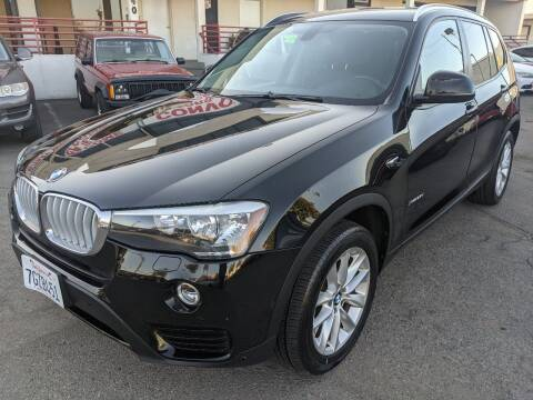 2015 BMW X3 for sale at Convoy Motors LLC in National City CA