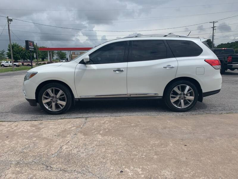 2016 Nissan Pathfinder for sale at Smooth Solutions 2 LLC in Springdale AR