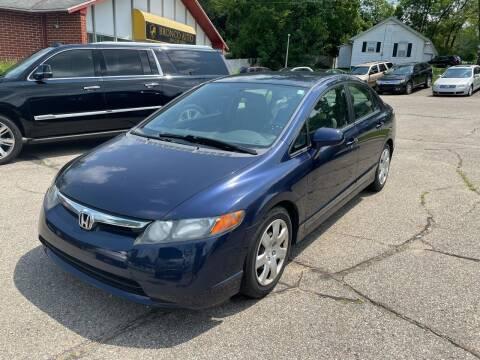 2007 Honda Civic for sale at Bronco Auto in Kalamazoo MI