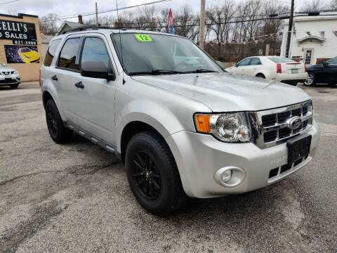 2012 Ford Escape for sale at Porcelli Auto Sales in West Warwick RI