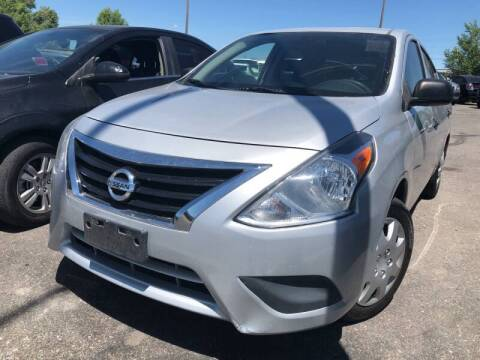 2015 Nissan Versa for sale at BELOW BOOK AUTO SALES in Idaho Falls ID