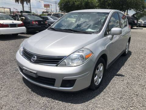 2012 Nissan Versa for sale at Lamar Auto Sales in North Charleston SC