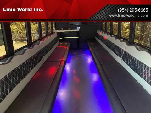 2012 Ford F-550 Super Duty for sale at Limo World Inc. in Seminole FL