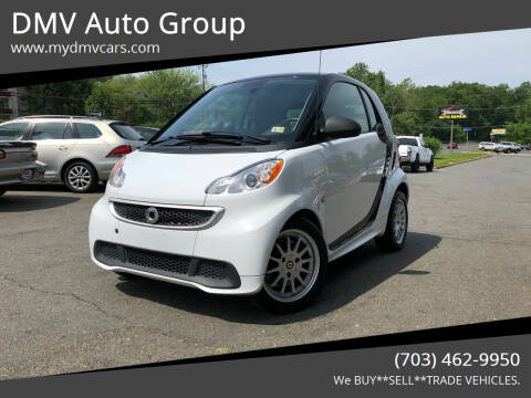 2014 Smart fortwo electric drive for sale at DMV Auto Group in Falls Church VA