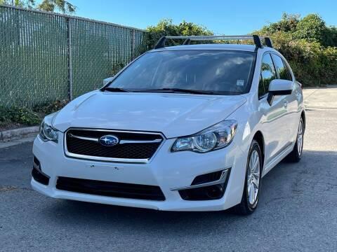 2015 Subaru Impreza for sale at ZaZa Motors in San Leandro CA