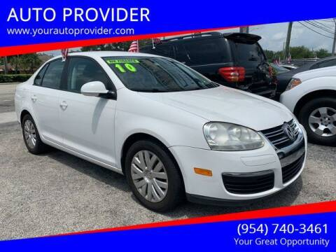 2010 Volkswagen Jetta for sale at AUTO PROVIDER in Fort Lauderdale FL