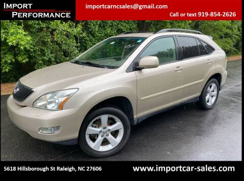 2007 Lexus RX 350 for sale at Import Performance Sales in Raleigh NC