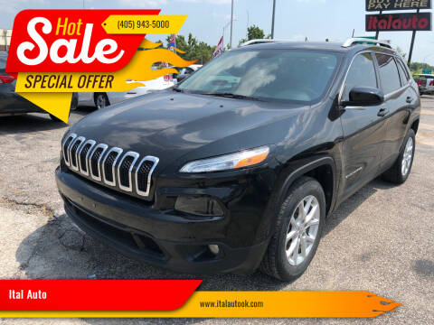 2017 Jeep Cherokee for sale at Ital Auto in Oklahoma City OK