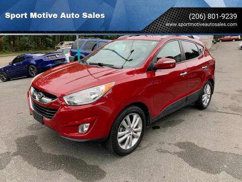 2012 Hyundai Tucson for sale at Sport Motive Auto Sales in Seattle WA