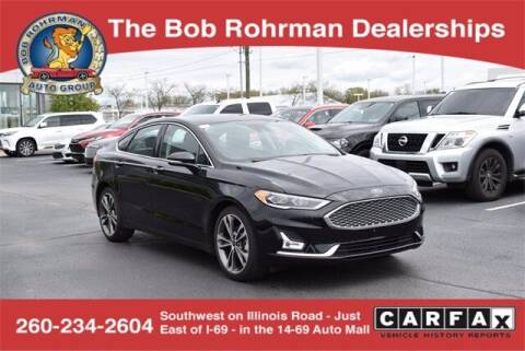 2019 Ford Fusion for sale at BOB ROHRMAN FORT WAYNE TOYOTA in Fort Wayne IN