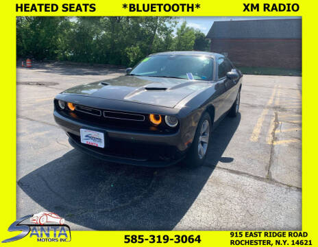 2016 Dodge Challenger for sale at Santa Motors Inc in Rochester NY