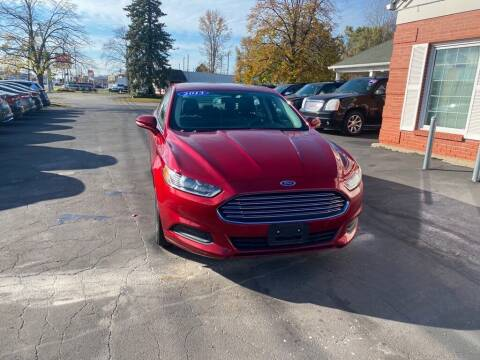 2013 Ford Fusion for sale at Motornation Auto Sales in Toledo OH