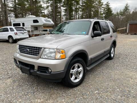 2003 Ford Explorer for sale at Hornes Auto Sales LLC in Epping NH