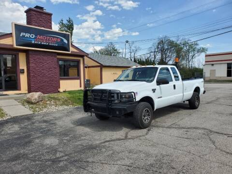 2004 Ford F-250 Super Duty for sale at Pro Motors in Fairfield OH