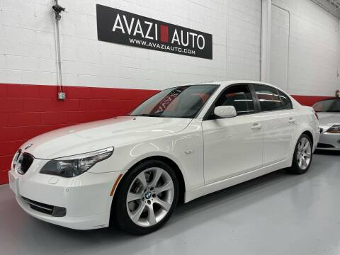 2009 BMW 5 Series for sale at AVAZI AUTO GROUP LLC in Gaithersburg MD
