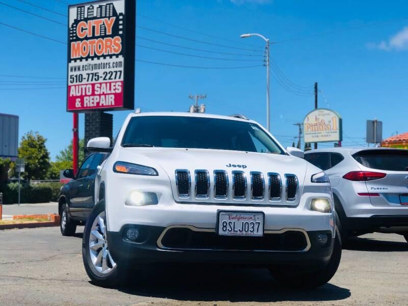2016 Jeep Cherokee for sale at City Motors in Hayward CA