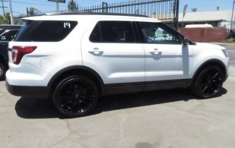 2017 Ford Explorer for sale at Luxor Motors Inc in Pacoima CA