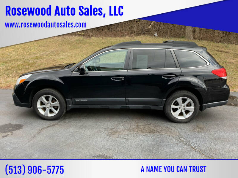2014 Subaru Outback for sale at Rosewood Auto Sales, LLC in Hamilton OH