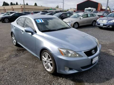 2007 Lexus IS 250 for sale at Universal Auto Sales in Salem OR