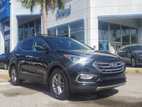 2018 Hyundai Santa Fe Sport for sale at DORAL HYUNDAI in Doral FL