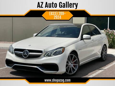 2014 Mercedes-Benz E-Class for sale at AZ Auto Gallery in Mesa AZ