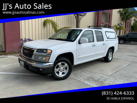 2009 GMC Canyon for sale at JJ's Auto Sales in Salinas CA