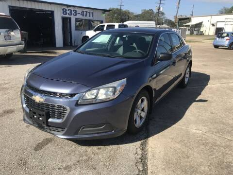 2014 Chevrolet Malibu for sale at AMERICAN AUTO COMPANY in Beaumont TX