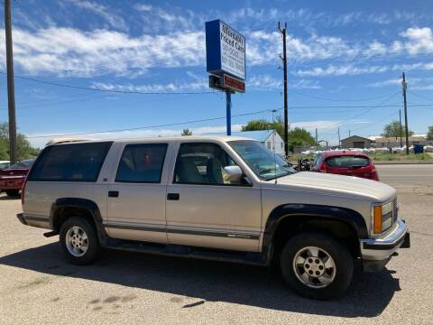 1993 GMC Suburban for sale at AFFORDABLY PRICED CARS LLC in Mountain Home ID