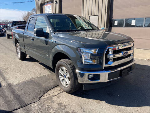 2017 Ford F-150 for sale at 222 Newbury Motors in Peabody MA