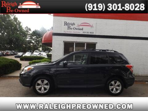 2014 Subaru Forester for sale at Raleigh Pre-Owned in Raleigh NC