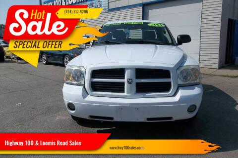 2006 Dodge Dakota for sale at Highway 100 & Loomis Road Sales in Franklin WI
