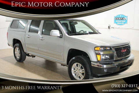 2012 GMC Canyon for sale at Epic Motor Company in Chantilly VA