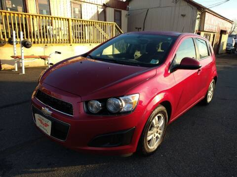 2015 Chevrolet Sonic for sale at P J McCafferty Inc in Langhorne PA