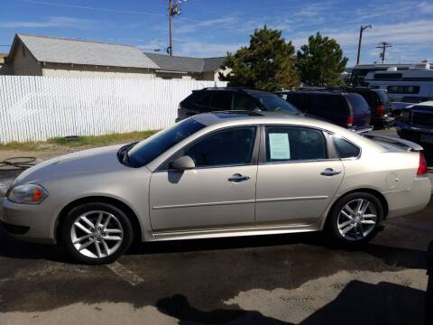 2012 Chevrolet Impala for sale at Freds Auto Sales LLC in Carson City NV